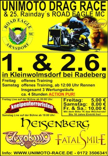 25. Raindays ROAD EAGLE MC Arnsdorf 4. Eagle Cup 2012
