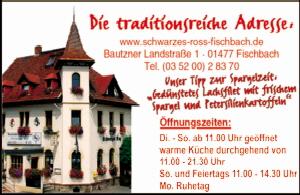 Gasthaus Schwarzes Roß an der B6 Fischbach