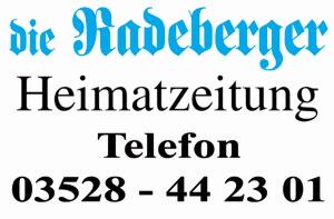 die Radeberger Heimatzeitung