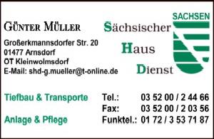 Sächsischer Hausdienst Kleinwolmsdorf