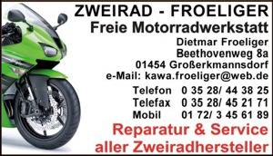 Zweirad Froeliger Großerkmannsdorf